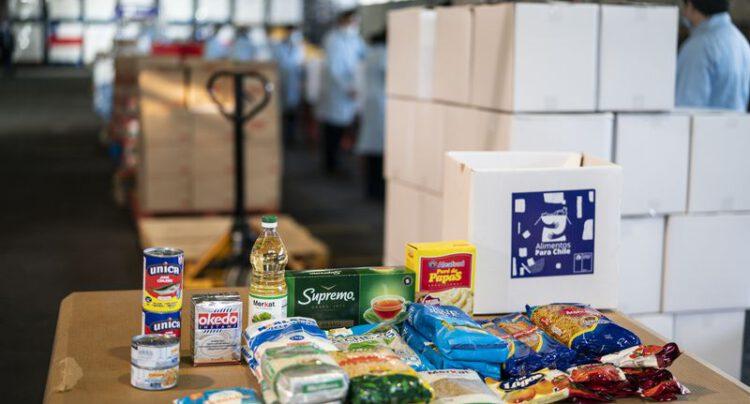 Gobierno anuncia la segunda entrega de cajas de «Alimentos para Chile»