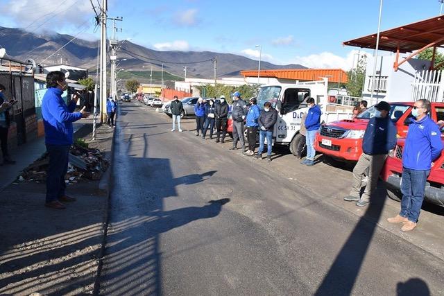 Este lunes se reanuda la entrega de cajas de alimentos en Illapel