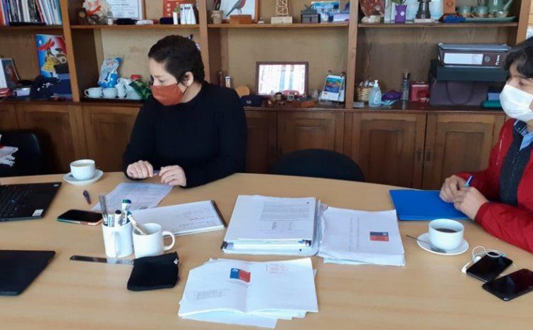 Afinan estrategia de apoyo para los crianceros caprinos de la región
