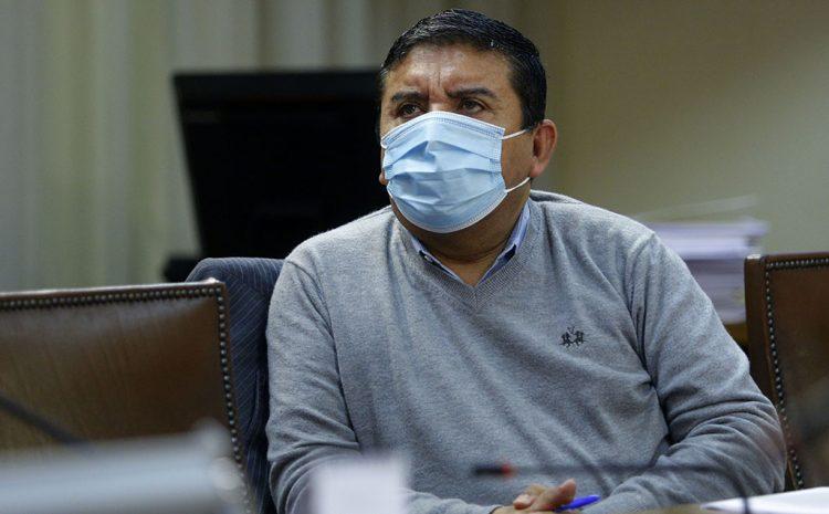Diputado Pedro Velásquez es detenido por no contar con salvoconducto
