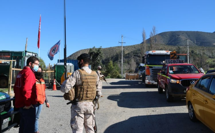 Ante cuarentena en la capital regional se refuerzan restricciones de acceso al Choapa