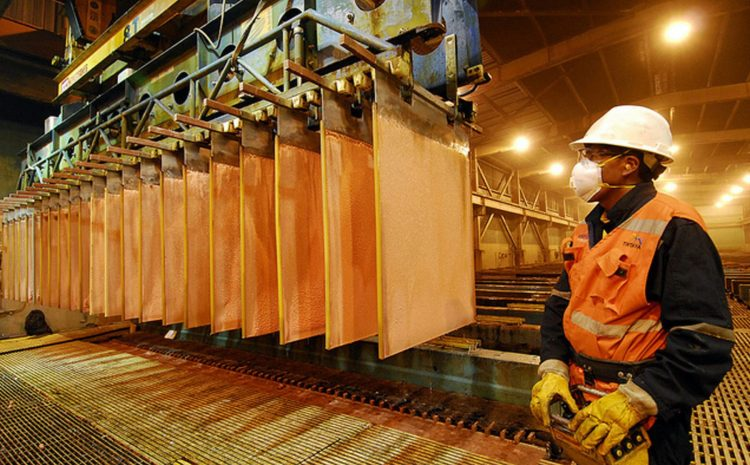 Ministro Prokurica por precio del cobre: Es una excelente noticia que podría obedecer a una situación coyuntural