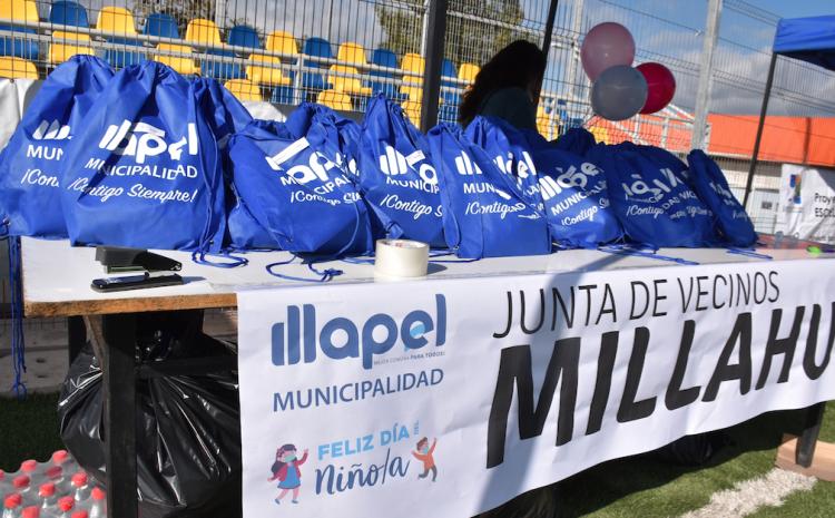Illapel dio el vamos a celebración del Día del Niño/a con entrega de 8.000 mascarillas infantiles