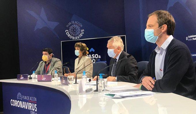 Minsal informó este martes 1.566 casos nuevos de Coronavirus y 39 fallecidos en el país