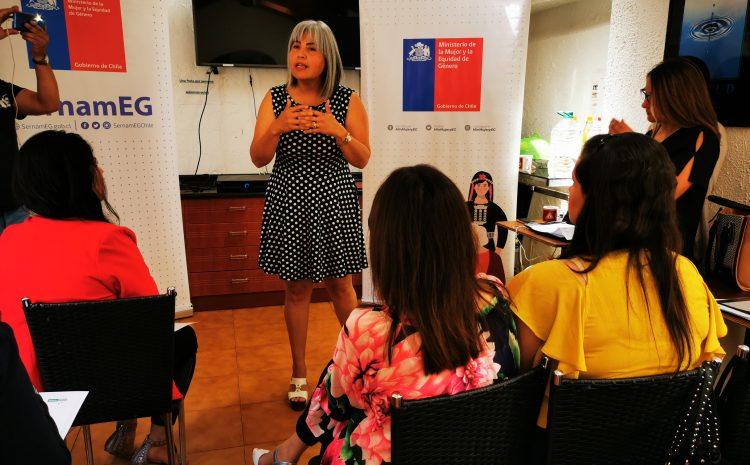 """Llaman a mujeres a postular a """"Escuelas Lideres"""" para aumentar participación femenina en próximas elecciones municipales"""