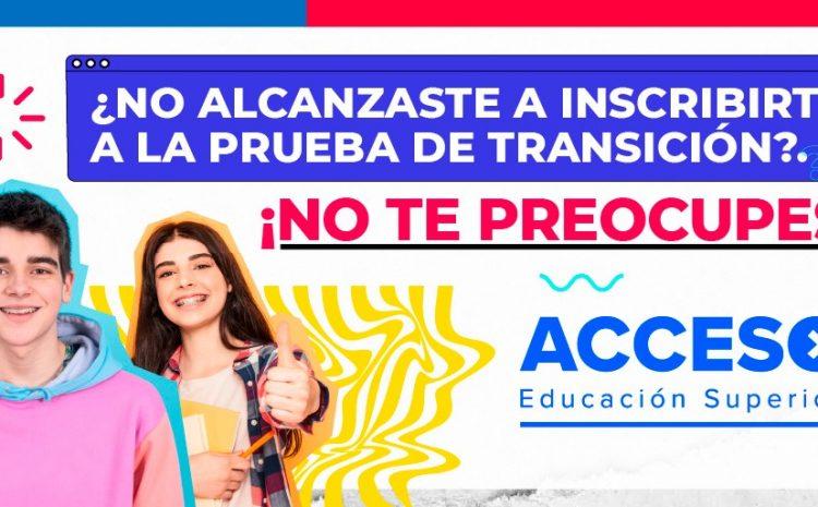 El 31 de agosto se abrirá nuevo proceso de inscripción a la Prueba de Transición 2021