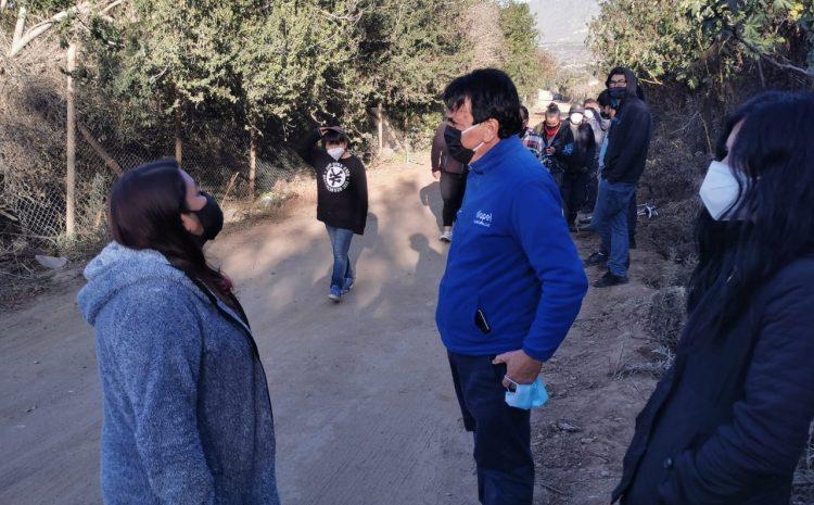 Alcalde de Illapel respalda a vecinos de sector Choapa frente a intención de agrícola de habilitar un pozo de aguas subterráneas