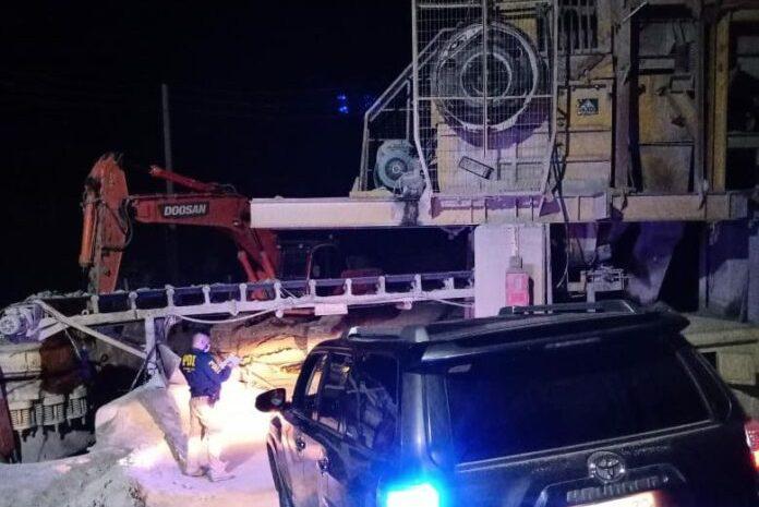 Accidente Minero en Tunga Sur  dejó un hombre de 27 años fallecido