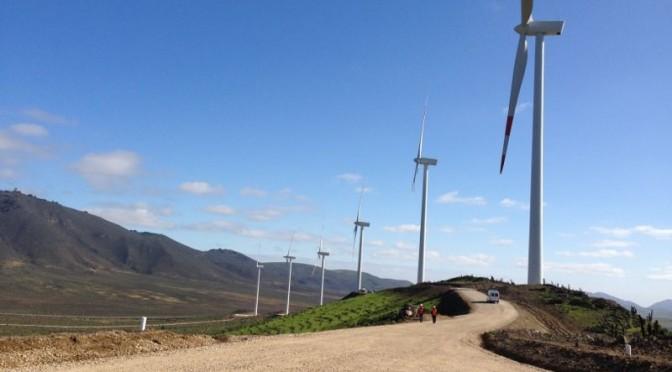 Más del 98% de la energía eléctrica que consume la región proviene de parques eólicos y fotovoltaicos