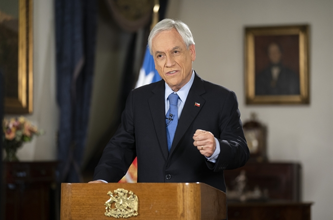 Presidente Piñera y presupuesto 2021: Enfoque en la recuperación de empleo y economía