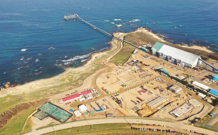 Minera Los Pelambres operará principalmente con agua de mar a partir de 2025