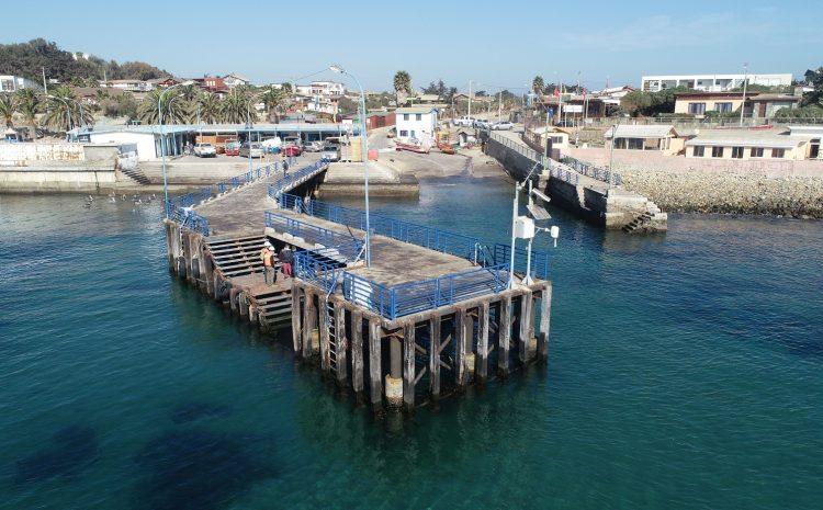 Dirección de Obras Portuarias del MOP inició licitación para la conservación de la caleta de Pichidangui