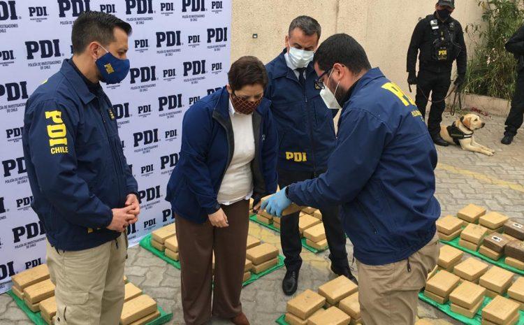 PDI incauta mas de 400 kilos de droga en La Serena