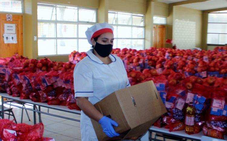 Junaeb informa situación abastecimiento canastas de alimentación por paro de camioneros