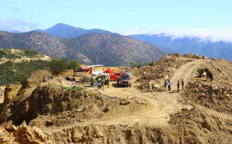 Hombre de 74 años muere en derrumbe pirquinero en el Choapa