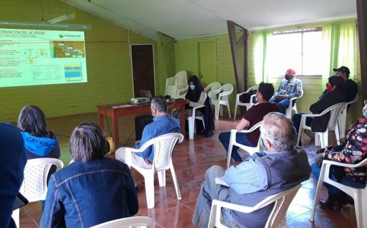 Aguas del Valle da el vamos a obras en Peralillo Illapel y garantiza resguardo a APRs locales