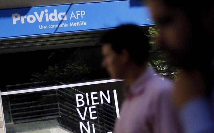 Superintendencia de pensiones acelerará ante AFP Provida pagos pendientes del 10%