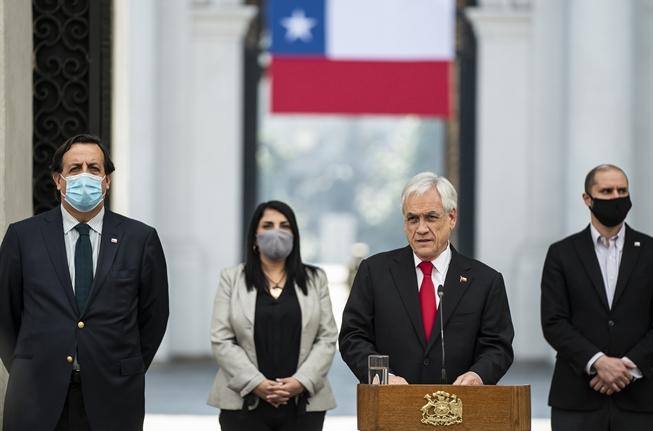 """Piñera llamó a la unidad en conmemoración del 11 de septiembre en La Moneda: """"Un país dividido no puede avanzar"""""""