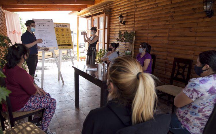 Participación de los vecinos marca reactivación de proyectos comunitarios del Somos Salamanca