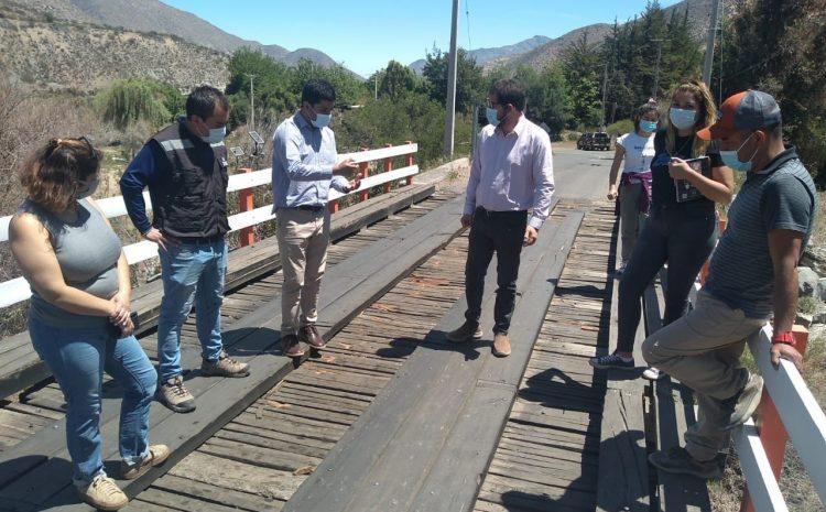 Emblemático Puente de localidad de Cuncumen será completamente refaccionado
