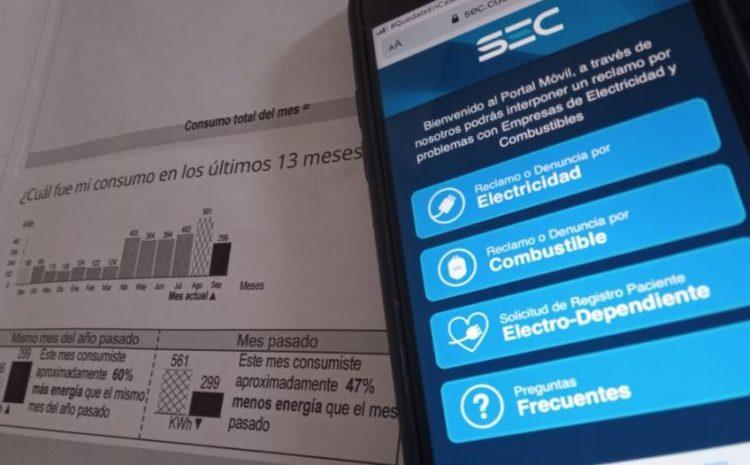 SEC Coquimbo recuerda a la comunidad que puede reportar en www.sec.cl problemas de facturación y cortes de luz