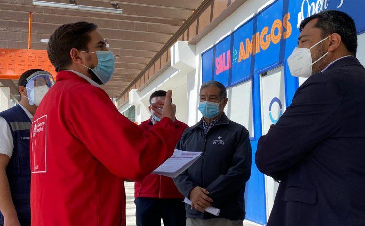 En Ovalle Dirección del Trabajo verifica condiciones de higiene y seguridad en el sector comercio