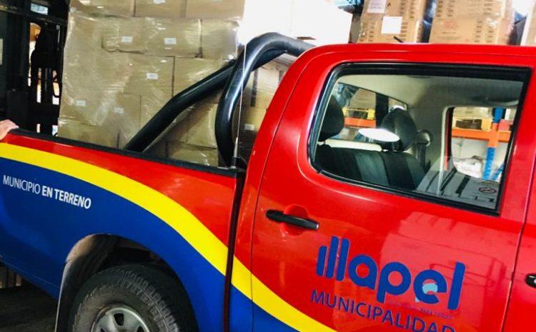 Municipalidad de Illapel recibe más de 13 mil kilos en donación de alimentos