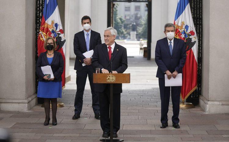 """Presidente Piñera por actuar de Carabineros: """"Rechazamos cualquier desvío de los protocolos"""""""