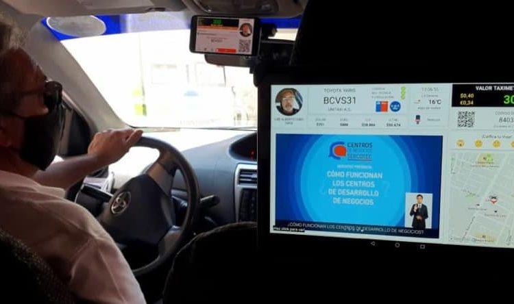 Plan piloto moderniza y transparenta cobros de viajes en Taxis
