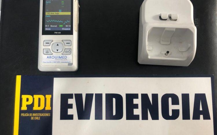 PDI recupera especie robada desde el Hospital de Andacollo