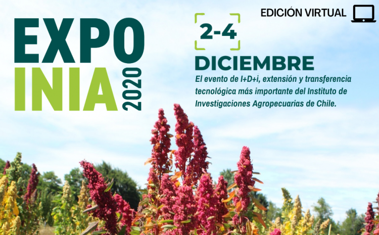 Expo INIA 2020 se realizará en diciembre en formato digital y con tecnología 3D
