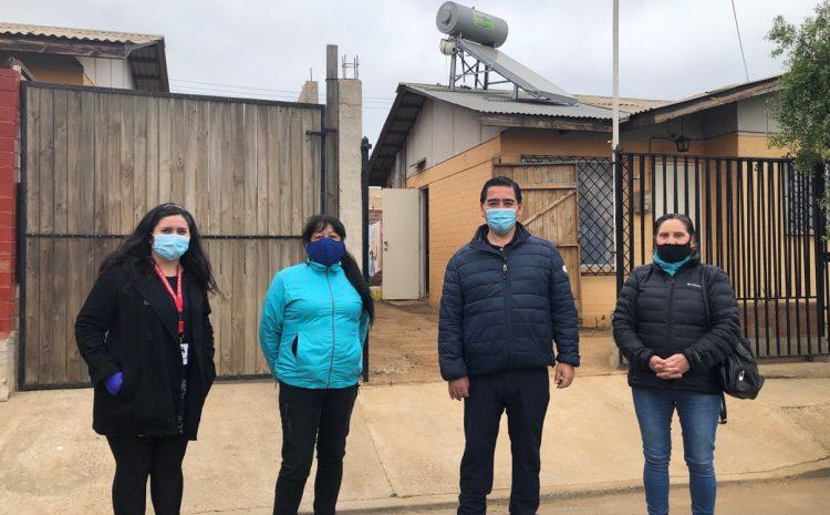 10 Familias vileñas ya cuentan con un colector solar térmico para agua caliente en la comuna