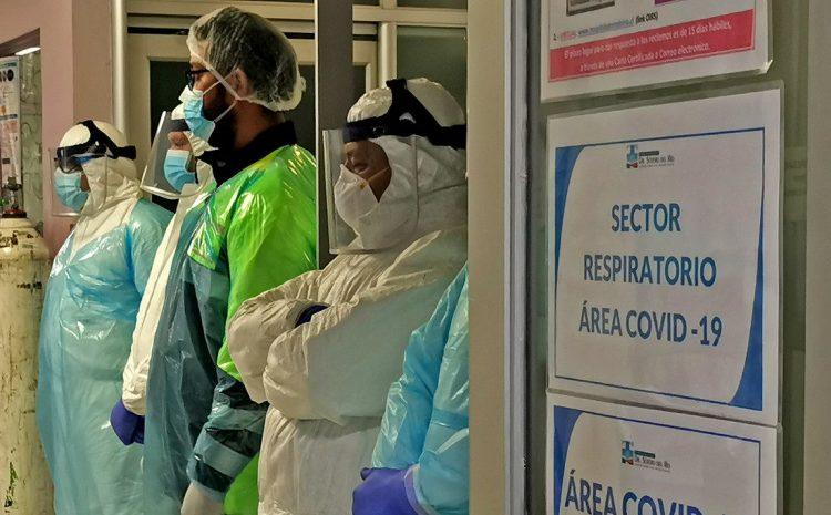 La región registra este viernes 1 fallecido y 25 casos nuevos por Coronavirus