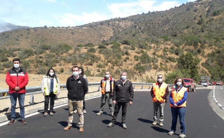 INCO desarrolla obras de mejoramiento vial en Los Vilos y Salamanca