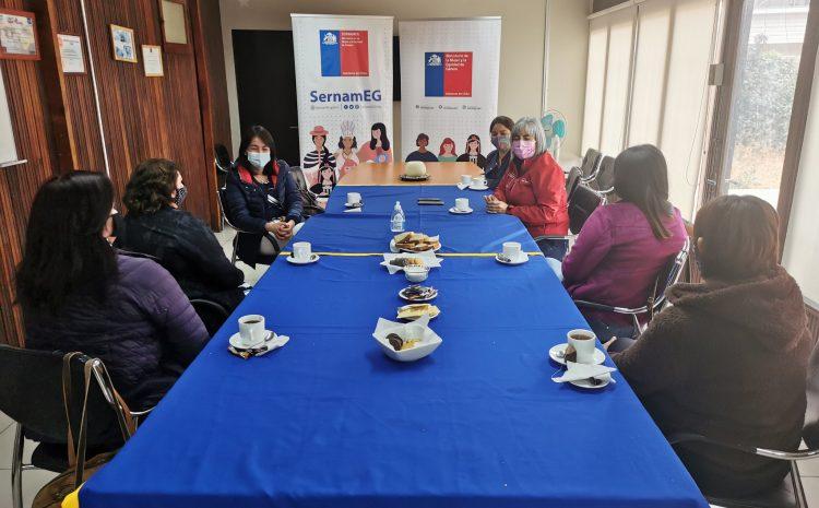 Autoridades regionales se reúnen con mujeres sobrevivientes de violencia y llaman a romper las barreras del silencio