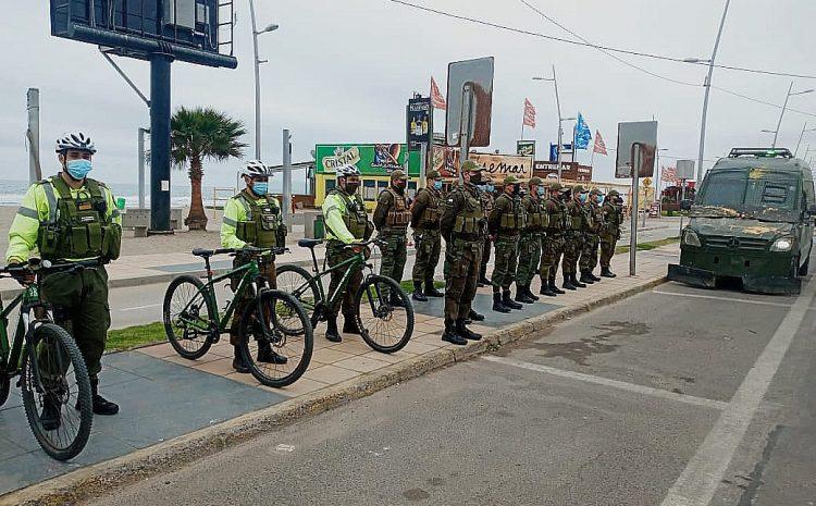 Con 100 efectivos de Carabineros se reforzará la seguridad en la región durante el verano