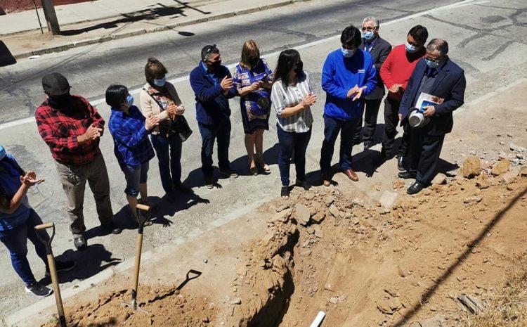 Importante proyecto de mejoramiento beneficiará a vecinos de avenida Irarrázaval en Illapel.