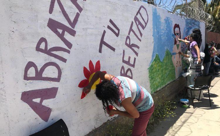 Con diferentes intervenciones artísticas CESAM del Hospital de Illapel conmemoró Día Internacional de la Eliminación de la Violencia contra la Mujer