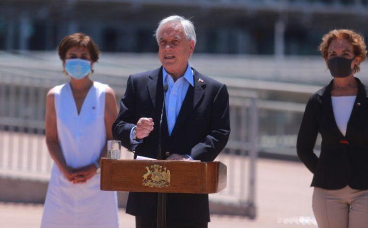 """Presidente Piñera por segundo retiro de fondos de las AFP: """"Queremos que se respete la Constitución y el estado de Derecho"""""""