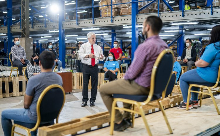 Presidente Piñera anuncia entrega de Bono Covid Navidad y destaca cifras de empleo