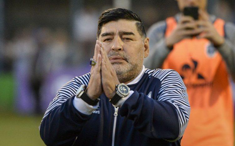 Diego Armando Maradona falleció a los 60 años de edad por paro cardiorespiratorio