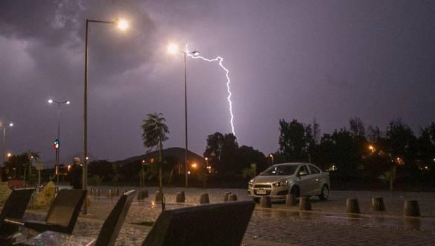 Pronostican tormentas eléctricas para la Región de Coquimbo
