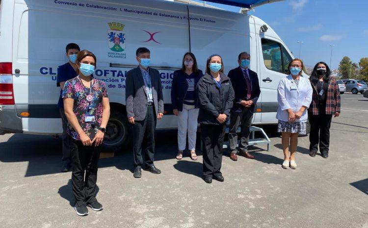 Con apoyo de Unidad Móvil de Salamanca: Pacientes del Hospital de La Serena se atienden en gran operativo oftalmológico