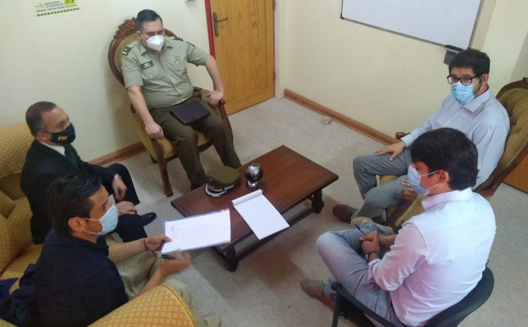 Autoridades se reúnen en nuevo Comité Policial  planificando labores por festividades de fin de año