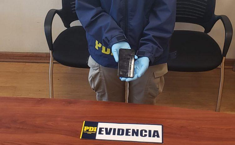 La PDI de Los Vilos recupera costoso celular que fue robado a un asistente de la Alcaldesa Evelyn Matthei