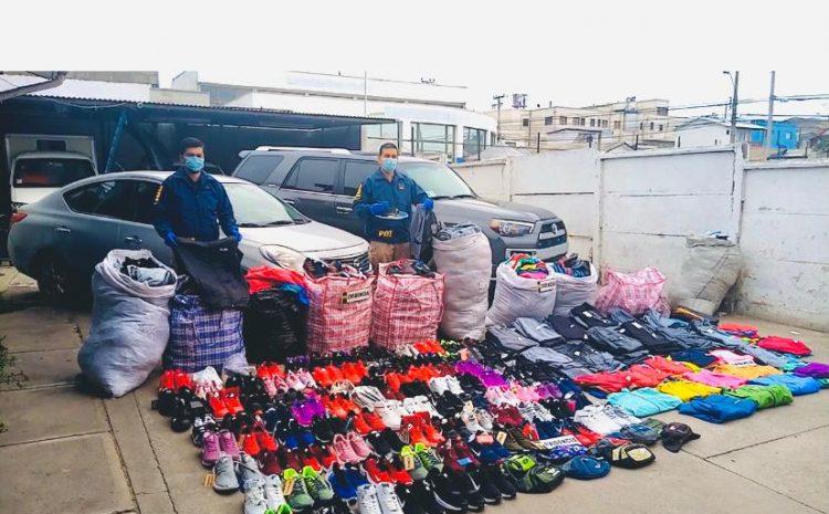 PDI incauta mas de 1700 productos falsificados en coquimbo.
