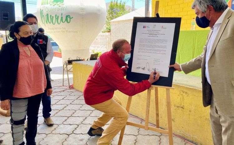 Vecinos de dos poblaciones de Vicuña se unen para mejorar sus entornos a través del programa Quiero Mi Barrio