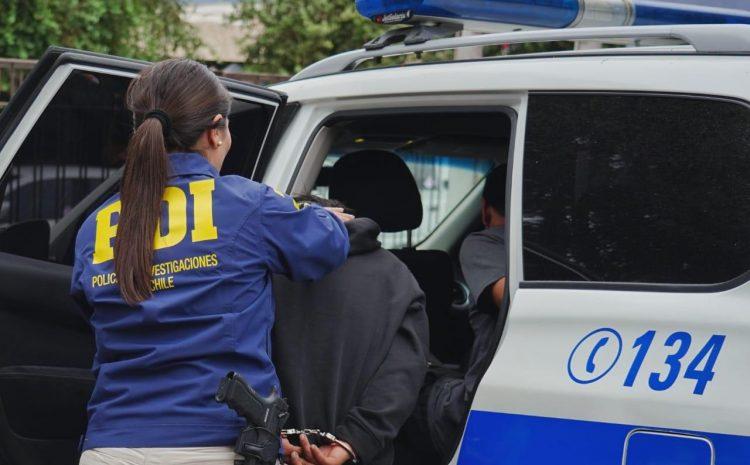 PDI de La Serena detiene a autor de lesiones en plena vía pública