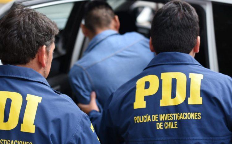 PDI de Los Andes detuvo a sujeto por secuestro y violación de su ex pareja