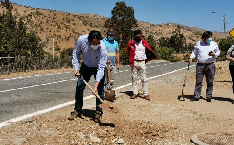 Vecinos de Canela celebran el inicio de obras de mejoramiento y ampliación de APRs de Carquindaño-El Zapallo